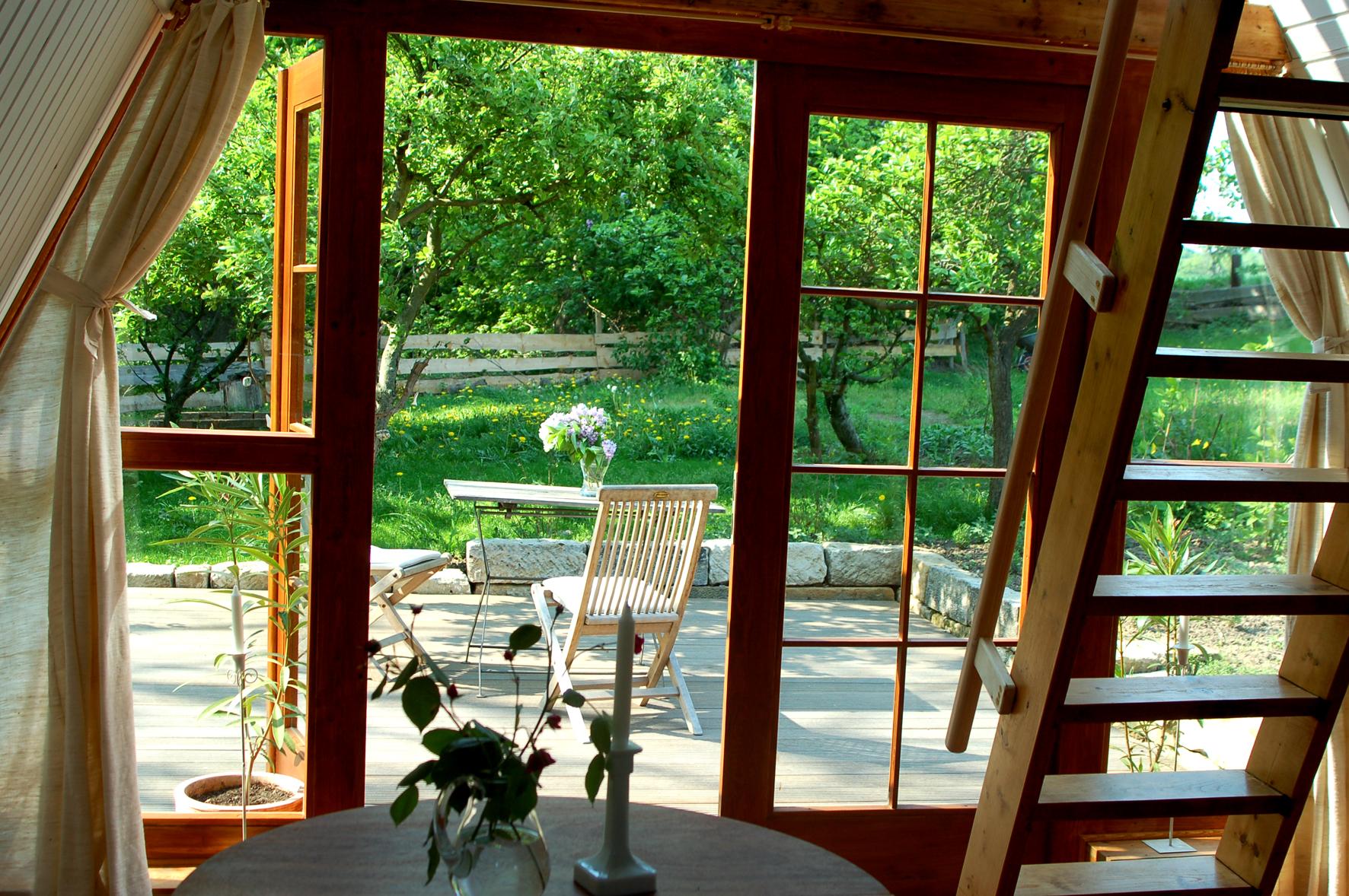 Villa sunnyside   gartenhäuschen